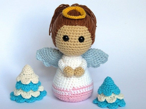 Amigurumi Tutorial Animali : Little Angel-Amigurumi Crochet Pattern / PDF e-Book di ...
