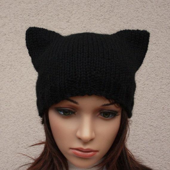 Sombrero gorro Cat.Ladies \'\' gato negro \'\'.