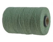 10 Yards -  Irish Waxed Linen - Sage
