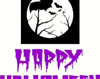 Halloween Vinyl Decals 2