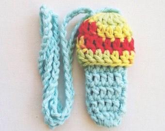Customizable Mushroom Lighter Holder - 50 Colors - Crochet Festival Lighter Leash - Handmade, Vegan - Made to Order - Noelebelle