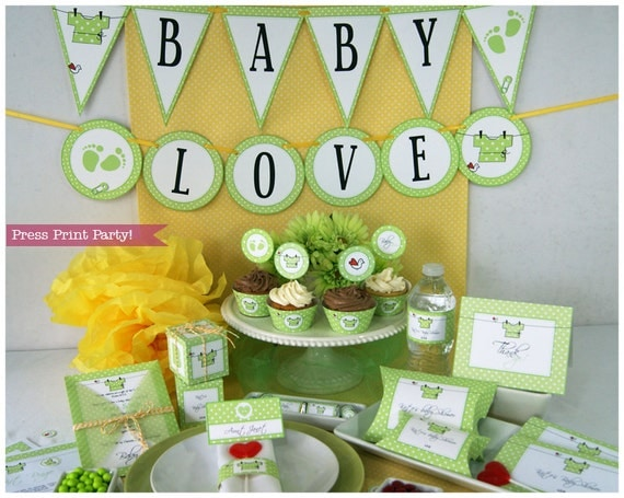 gender neutral baby shower decorations best baby decoration