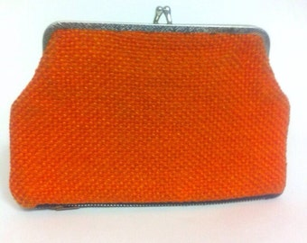 Vintage 2 sided change purse clutch FREE SHIPPING