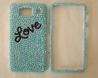 CUSTOM Bling Rhinestone Cell Phone Case Cover