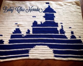 Disney Castle Afghan Crochet Pattern