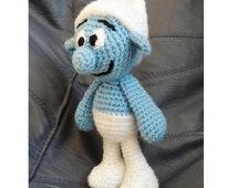 Crochet Toy Pattern, Crochet SMURF Pattern , Amigurumi Smurf Pattern, Amigurumi Crochet Smurf Pattern, PDF Pattern