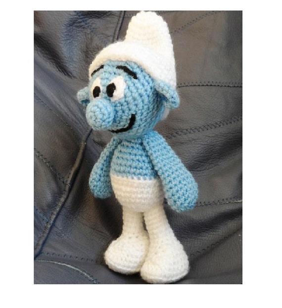 Items similar to Crochet Toy Pattern, Crochet SMURF Pattern ...