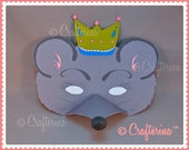 Mouse King from the Nutcracker Ballet Printable Mask Set- PDF Craft Kit - DIY - Play & Pretend - Educational