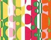 Fabric- Groovy Dots  in Garden, Flower Child by Robert Kaufman -  1 yard