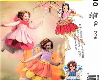 NEW McCall's Child's Fairy Costume  MP310 Size 6-8