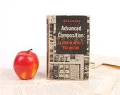 English Book Kindle Cover, Nook Cover- Ereader Case- Advanced Composition- Vintage