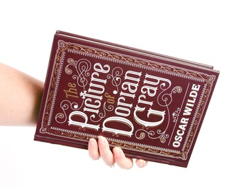 Book Clutch Purse- The Picture of Dorian Gray- Custom