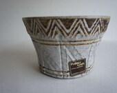 Vintage Pottery Craft Stoneware Planter 1970s