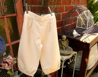 Sz 1-3 yrs or 4-6yrs Light khaki tan knicker pants, for little boys