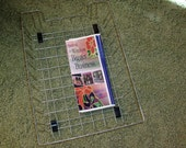 Vintage Wire In - Out  Basket Desk Organizer Or What Not Organizer