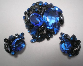 D&E aka JULIANA Blue Multi Shade,Shapes Demi    Item No:14989