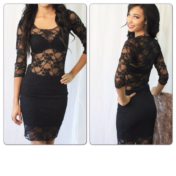 LEXI- MTBG & Co Long Sleeve Lace Dress