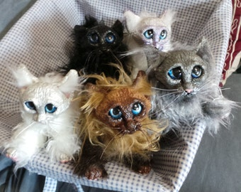 Itty Bitty Kitty Posable Art Dolls