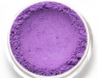 """Matte Violet Purple Eyeshadow - """"Wildflower"""" - Vegan Mineral Eyeshadow Net Wt 2g Natural Mineral Makeup Eye Color Pigment"""