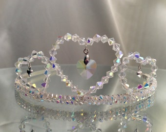 Hearts tiara