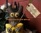 Owls Witches Pumpkins, Halloween Decorations, Primitive Country Decor, Fall Holidays