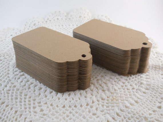 RESERVED for Nichole Wedding Wish Tree Tags Large Kraft Gift Tags Merchandise Tags Blank 3.5 Inch - Set of 200