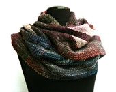 Handwoven Winter Scarf / Shawl, Multicolored