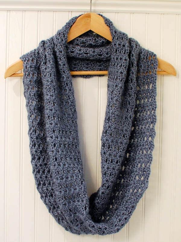 Crochet Pattern Mobius Infinity Scarf Wrap Pattern
