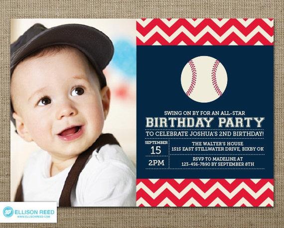 All star sports – Sports Themed Birthday Invitations