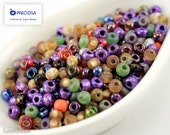 Czech Seed Beads size 6/0 (20g) Mixed Mix Colorful Preciosa Ornela Rocailles NR 190 last