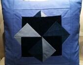 Blue Denim Pillow Shams