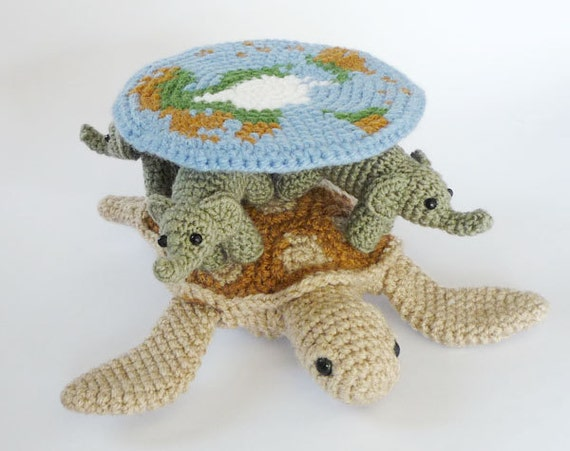 Amigurumi Discworld : Crocheted Discworld