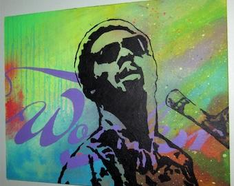 Stevie Wonder by Jim Wallace