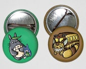 Totoro Buttons