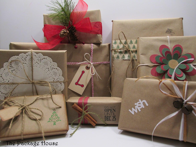 Kraft Wrapping Paper Kraft Gift Wrap Huge Roll 60 Yards
