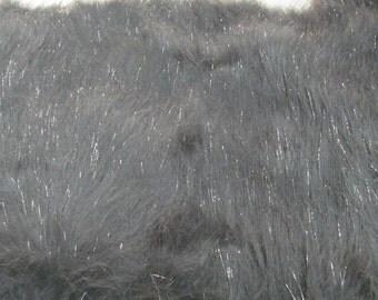 Third Yard Grey Sparkle Fur Shag