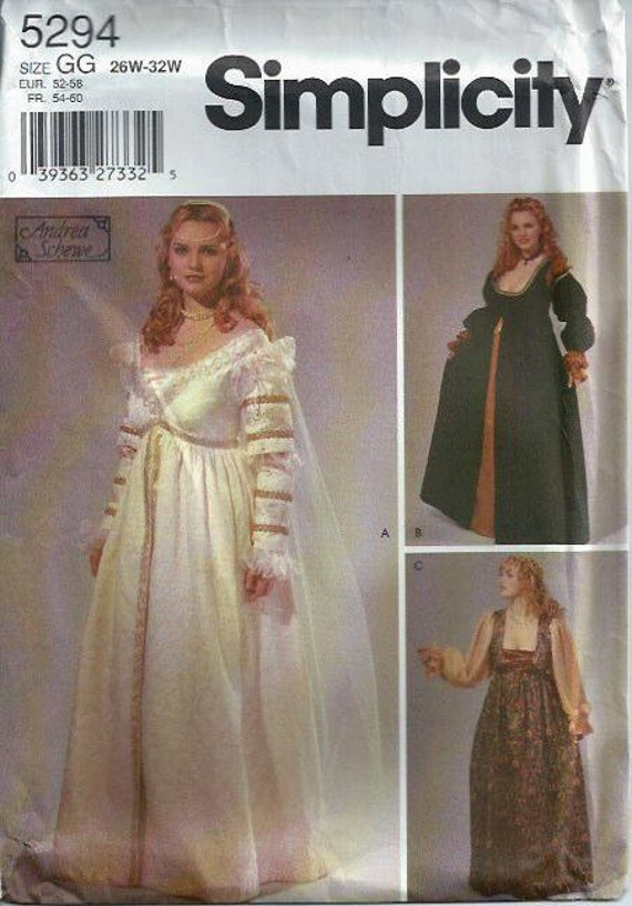 Oop Rare Divination Tarot Cards Unused Sealed Deck By: Rare & OOP Renaissance Bridal Gown And Costume Pattern