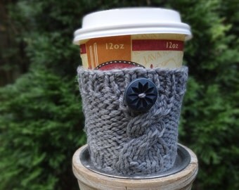 Cozy Knit Coffee / Drink Cup sleeve