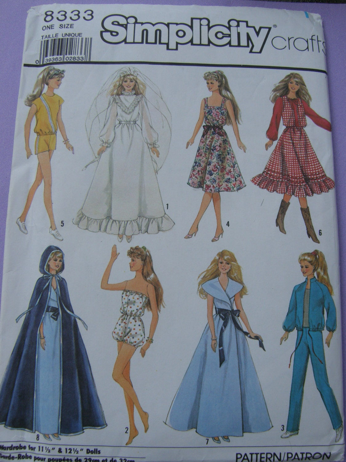 barbie doll clothes patterns - photo #14