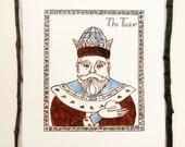 """Nursery Art Print - """"The Tsar"""""""