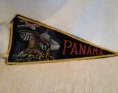 Vintage Panama Pennant