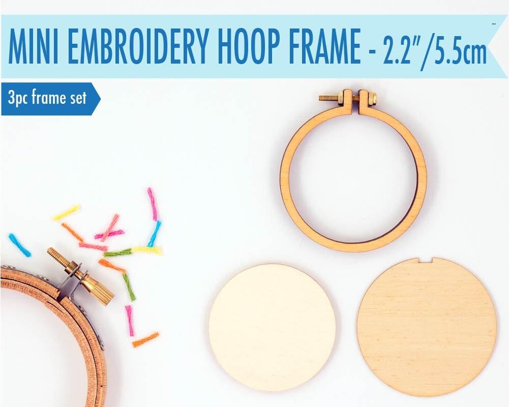 Miniature Embroidery Hoop Frame DIY Kit 55cm22 Hoop