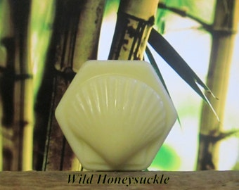 Wild Honeysuckle Organic Solid Lotion Bar 100% Natural Large 4 oz.