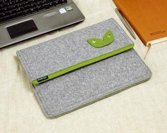 Felt iPad 1 2 3 4 Case, New iPad Sleeve iPad Bag with Earphone Organizer Holder Custom Made Bag for iPad1 2 3 E552