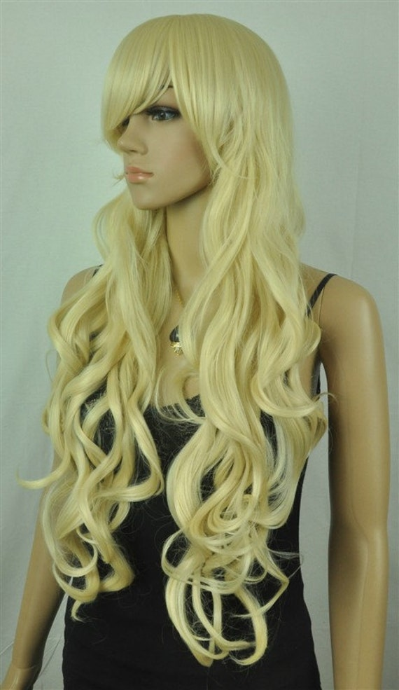 Items similar to Rapunzel // Long Beautiful Blonde Curly ...
