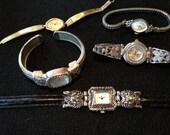 5 Vintage Watches for 20 Dollars Lorus, Elgin, Geneva, Sevil