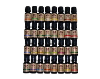 Aromatherapy Gift Set (Includes 32-10 ml Pure Essential Oils)