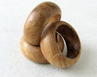 Wooden ring oak FOREST MAIDEN v