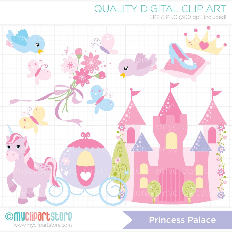 free disney princess castle clipart - photo #47