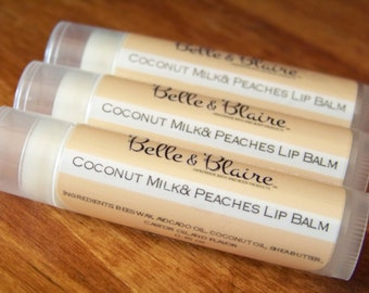 Coconut, Milk & Peaches Lip Balm